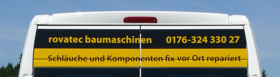Hydraulikschläuche und Komponenten fix vor Ort repariert